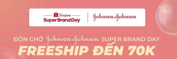 """Tận hưởng ưu đãi giảm đến 50% cùng """"Ngày siêu thương hiệu"""" từ Johnson & Johnson - 1"""