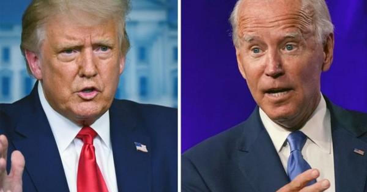 """Bầu cử Mỹ: Tổng thống Trump và đối thủ Biden """"mài gươm"""" so găng trực tiếp"""