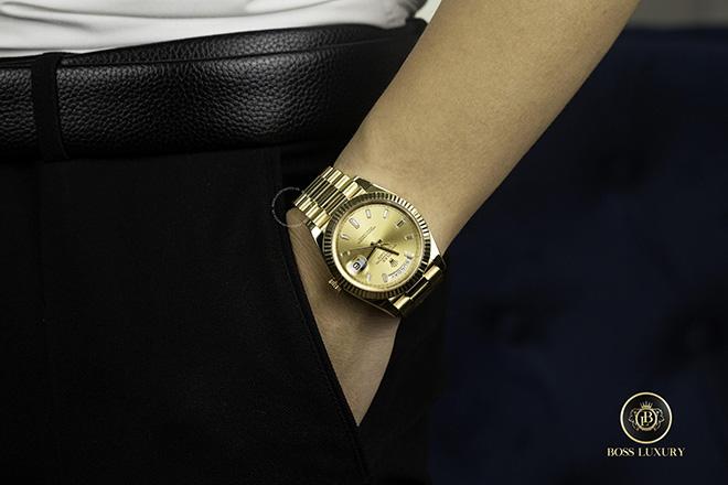 Boss Luxury gợi ý chọn đồng hồ Rolex Day-Date dành cho người mới sử dụng - 1