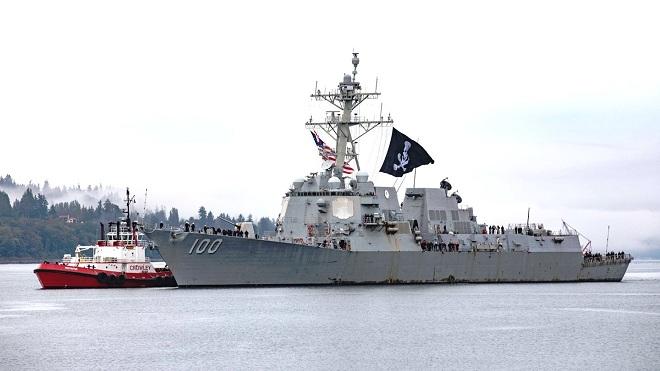 Chuyện về chiến hạm duy nhất của hải quân Mỹ treo cờ cướp biển - 1