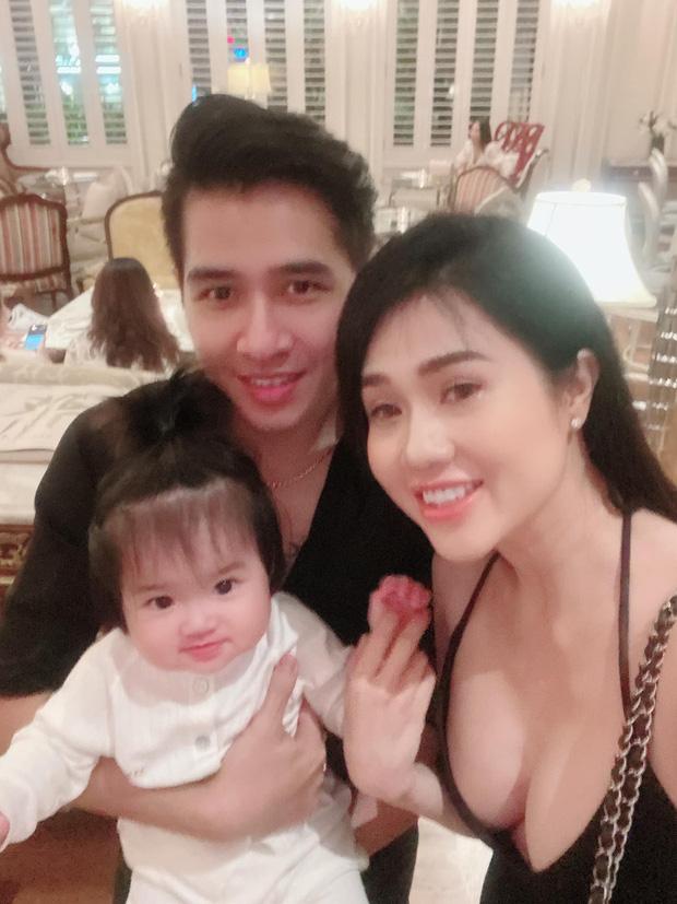 Bà xã ca sĩ Tiêu Quang tâm sự chuyện tái xuất showbiz sau sinh con - 1