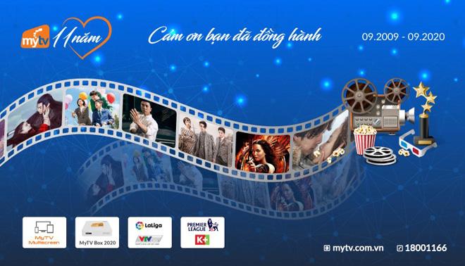 MyTV mừng sinh nhật 11 tuổi – tri ân ngàn nội dung chất tới khách hàng - 1