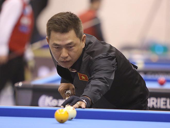 """Sao bi-a Việt """"gánh team"""" cực đỉnh giúp đội nhà thắng tại Hàn Quốc - 1"""