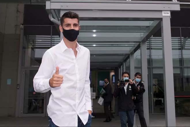 """""""Bom tấn"""" Morata trở lại Juventus: Hoàng tử Madrid kết thúc kỷ nguyên Ronaldo? - 1"""