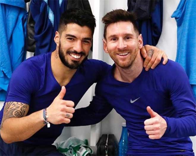 """Messi chua xót tạm biệt Suarez, tam tấu """"MSN"""" bất ngờ """"tái hợp"""" - 1"""