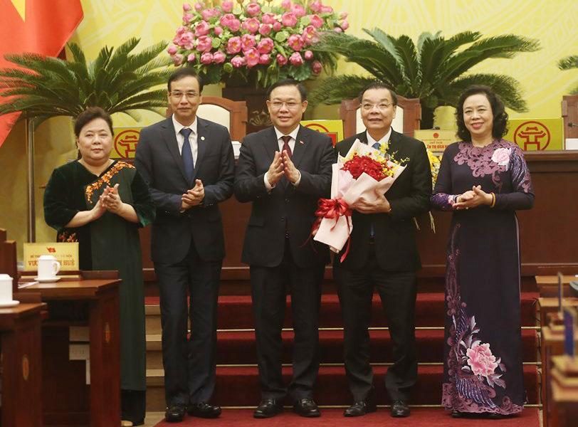 Ông Chu Ngọc Anh nói gì khi nhậm chức Chủ tịch UBND TP.Hà Nội? - 1