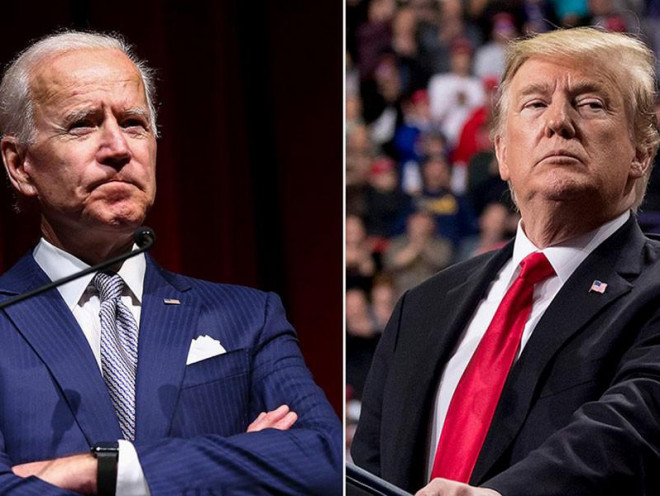 Tranh luận bầu cử Mỹ: Ông Biden tự tin, ông Trump thận trọng - 1