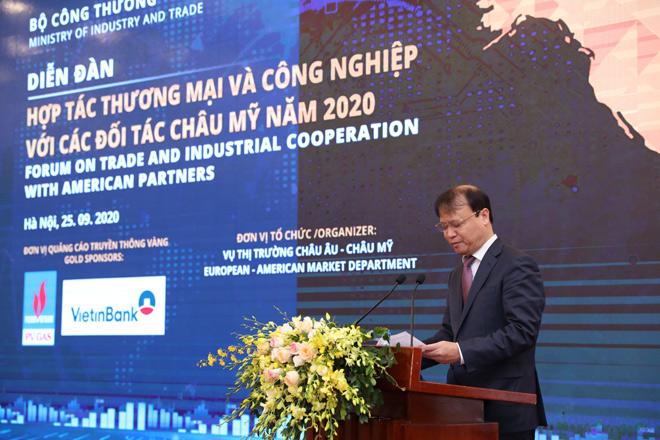 Kết nối cung cầu giữa Việt Nam và các đối tác khu vực châu Mỹ năm 2020 - 1