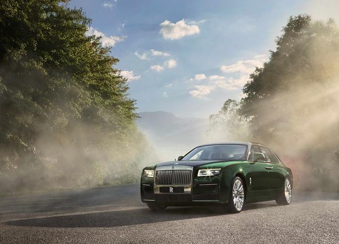 Rolls-Royce Ghost 2021 đẳng cấp hơn với phiên bản kéo dài trục cơ sở - 1