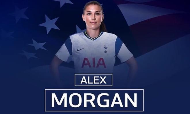 """Tottenham ra mắt """"bom tấn"""": Mỹ nữ số 1 làng bóng đá nổi hơn Son Heung Min - 1"""