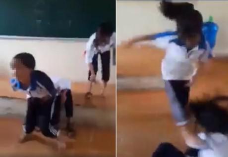 Những vụ học sinh đánh nhau kinh hoàng như phim hành động - 1