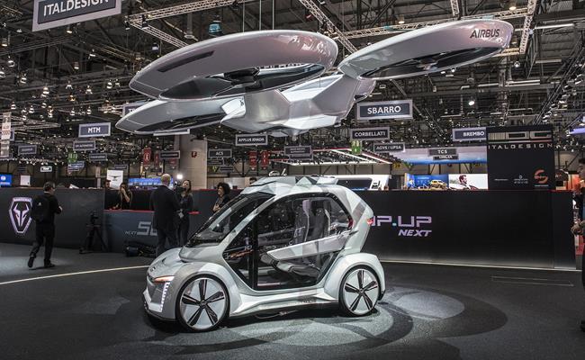 Ra mắt tại Geneva Motor Show 2018, Pop.Up Next là mô hình dự án mà Audi và Italdesign cùng nhau hợp tác nghiên cứu.
