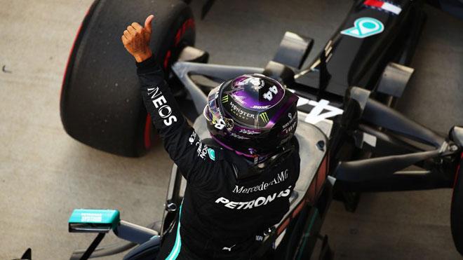 Đua xe F1, Russian GP: Mercedes cùng Hamilton lập kỷ lục mới - 1