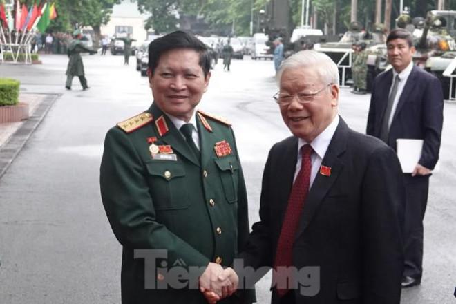 Tổng Bí thư, Chủ tịch nước Nguyễn Phú Trọng dự và chỉ đạo Đại hội Đảng bộ Quân đội - 1