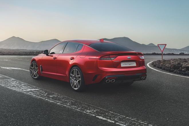 Kia Stinger 2021 ra mắt, trang bị duy nhất động cơ V6 - 3