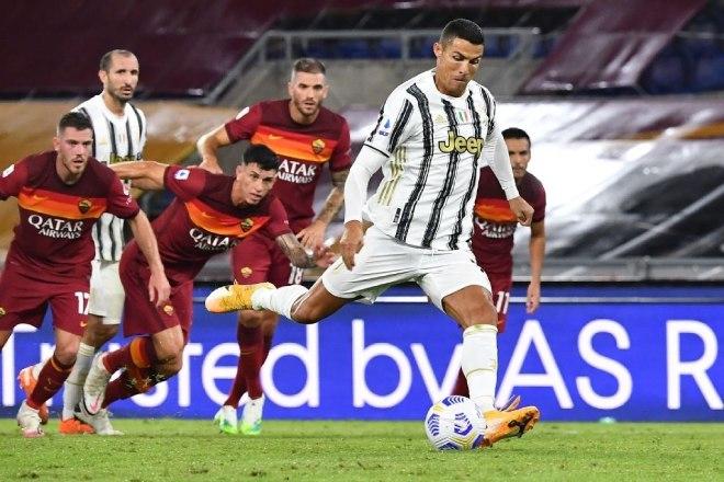 Video highlight trận AS Roma - Juventus: Ronaldo tung hoành, rực rỡ 2 cú đúp - 1