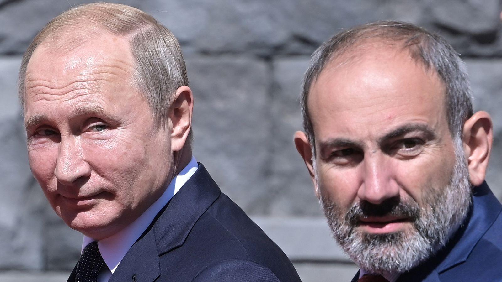 Xung đột Azerbaijan-Armenia: Động thái của ông Putin - 1