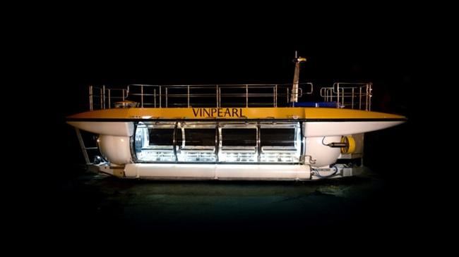 Triton DeepView24 là tàu mà Vingroup đặt mua để phục vụ khách hàng Vinpearl vào cuối năm nay.