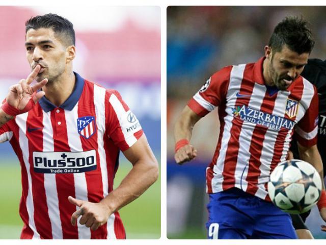 """Bóng đá - Suarez tỏa sáng ở Atletico Madrid: Barca lại dẫm """"vết xe đổ"""" David Villa?"""