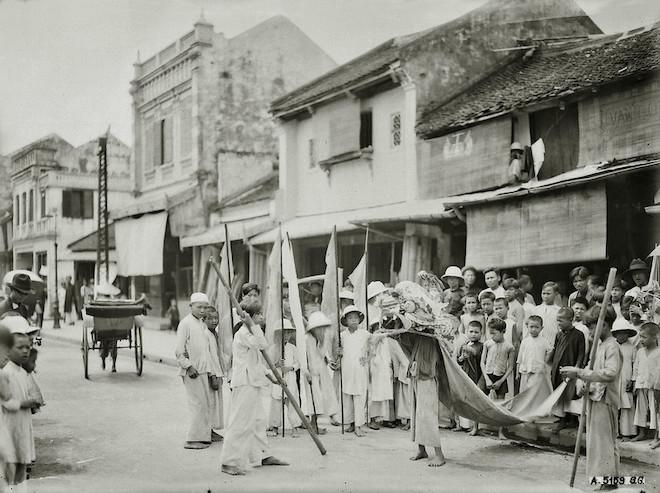 Những bức ảnh trắng đen quý giá về Tết Trung thu gần 100 năm trước - 1
