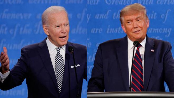 Tranh luận: Trump - Biden công kích trí thông minh của nhau - 1