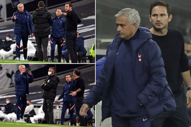 """Mourinho """"khẩu chiến"""" với Lampard, bất ngờ bỏ vào đường hầm giữa trận - 1"""