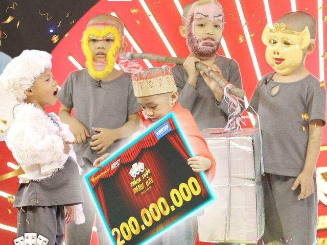 """Giải trí - """"5 chú tiểu Bồng Lai"""" phá kỷ lục giải thưởng 300 triệu đồng ở """"Thách thức danh hài"""" giờ ra sao?"""