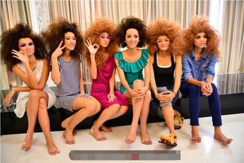 """Những """"cô nàng tóc rối"""" tại Top Model - 1"""