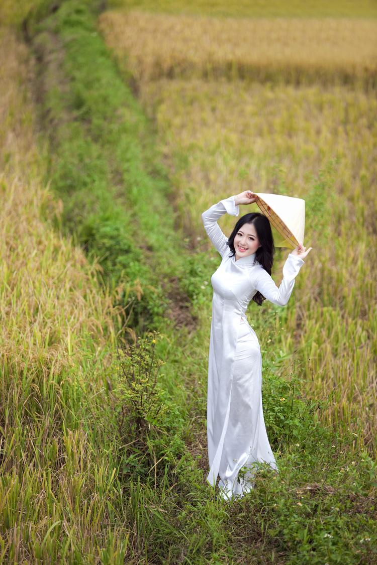 Trong  bộ ảnh dự thi của top 60, Thanh Tâm đã giới thiệu đến cuộc thi hình ảnh  người con gái Việt Nam duyên dáng trong tà áo dài truyền thống. Cô gái Quảng Ninh này cũng mong muốn sẽ giới thiệu hình ảnh của đất nước Việt Nam với nền văn minh nông nghiệp lúa nước tới bạn bè khắp thế giới.
