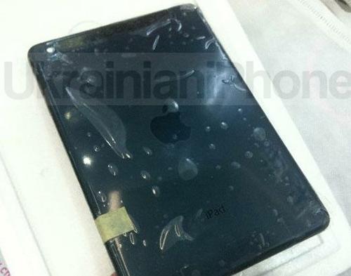 iPad mini lộ ảnh 'nóng' trước giờ G - 1