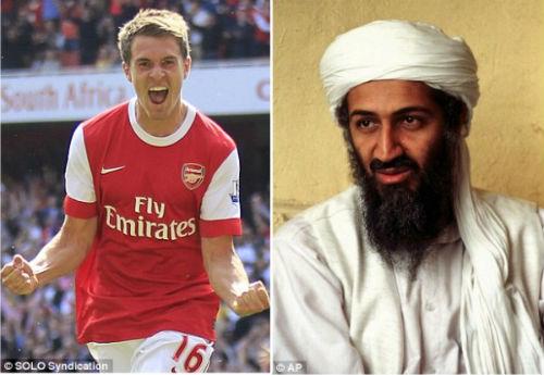 """Ramsey ghi bàn: """"Vận đen"""" xuất hiện? - 1"""