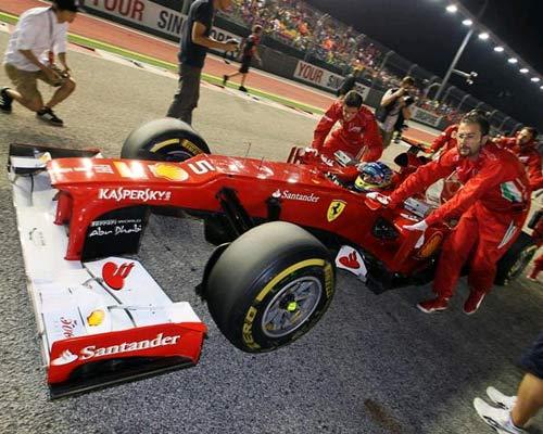 F1 – Japanese GP: Nguy hiểm rình rập - 1