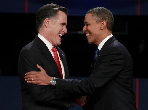 """Hai ứng viên tổng thống Mỹ """"so găng"""" - 1"""