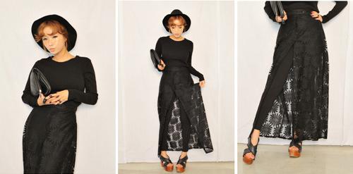 Cập nhật 5 mẫu váy ren mốt nhất thu - 1