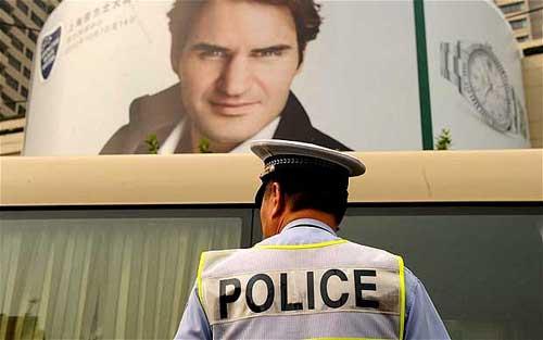 Federer được bảo vệ nghiêm ngặt - 1