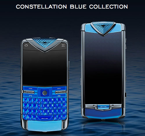 "Vertu tung dế ""Constellation Blue"" siêu sang - 1"