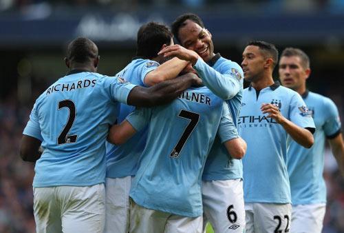 Man City thắng, Mancini nổ tưng bừng - 1