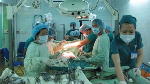 Ca ghép gan người lớn đầu tiên tại TP.HCM - 1