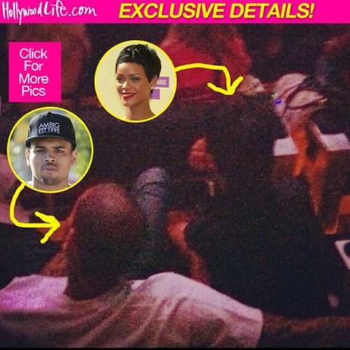 Rihanna quay lại với bạn trai vũ phu - 1