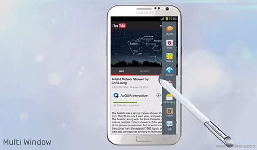 Galaxy Note II cập nhật tăng tính đa nhiệm - 1