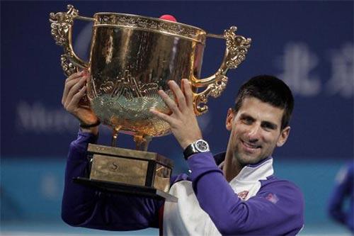 Djokovic muốn soán ngôi Federer sau Thượng Hải Masters - 1