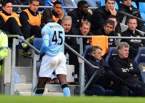 """Man City: Đến lúc nói """"không"""" với Balotelli - 1"""