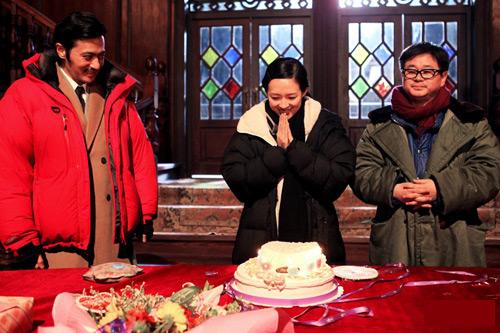 Tử Di đón sinh nhật bên Jang Dong Gun - 1