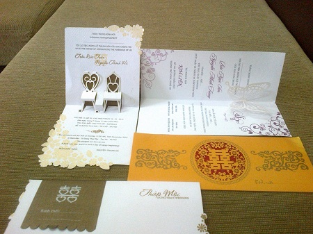 Thiệp cưới 3D quyến rũ giới trẻ - 1