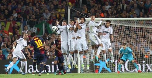 Giải mã khả năng sút phạt của Messi - 1