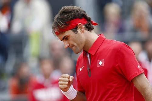 Federer – Lu: Vượt chướng ngại vật (Thượng Hải Masters) - 1