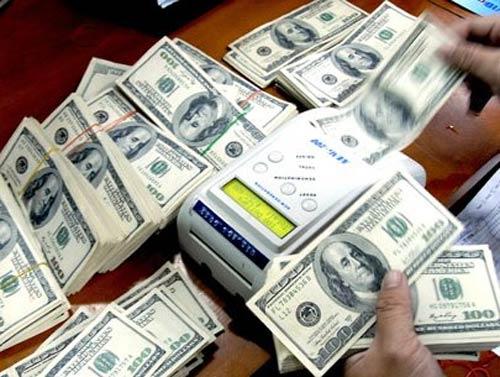"""Các ngân hàng đang tích cực mua """"đô"""" - 1"""