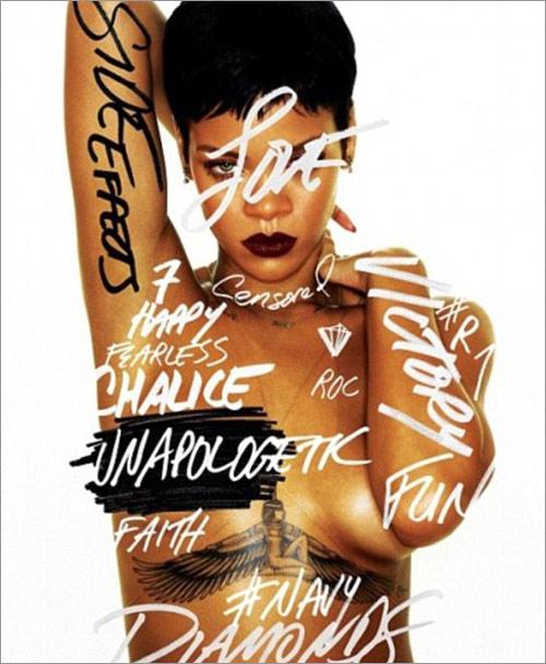 Rihanna bán nude trong album mới - 1