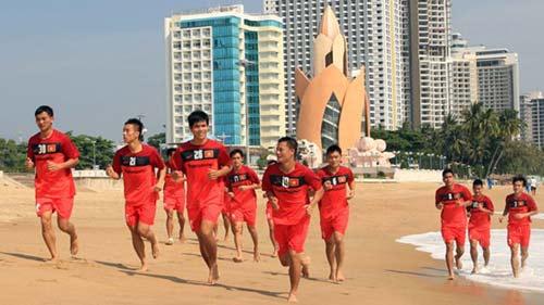 """ĐT Việt Nam chia tay """"món cháo thể lực"""" - 1"""