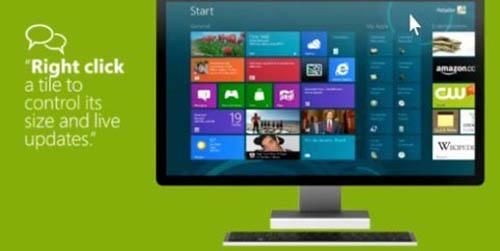 Microsoft lộ clip hướng dẫn cách dùng Windows 8 - 1